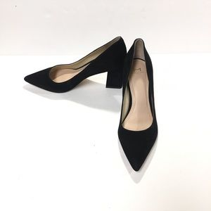 Marc Fisher LTD Zala Pointed Toe Suede Pumps 7M